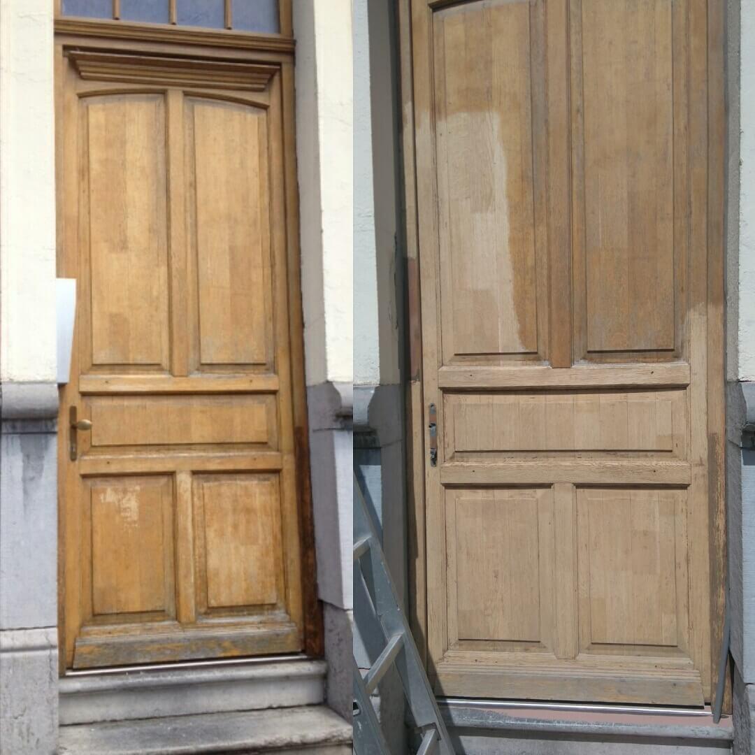 comment d caper une porte en bois. Black Bedroom Furniture Sets. Home Design Ideas